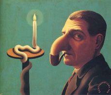 Philosopher S Lamp rene magritte