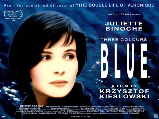 THREE COLOURS - BLUE - UK Poster