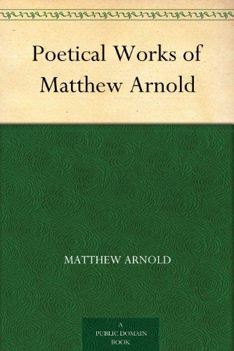 Matthew arnold essays