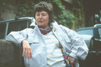 Roma 22 giugno 2000. Luce Irigaray, filosofa e saggista. Foto : Rino Bianchi