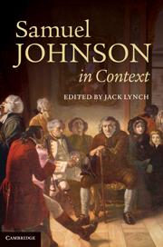 Literary Criticism Of Samuel Johnson Literary Theory And Criticism