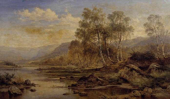 The Valley of the Llugwy 1883 Benjamin Williams Leader 1831-1923 Presented by Sir Henry Tate 1894 http://www.tate.org.uk/art/work/N01540